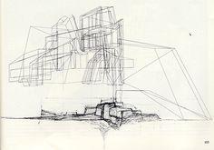 годный сайт. много олдовых подач + эскизы архитекторов   (Gunther Domenig)