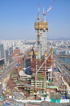 Lotte World Tower Paris Skyline, Engineering, Tower, Architecture, Travel, Arquitetura, Rook, Viajes, Computer Case