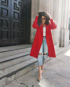 Pin by KJ on Fashion & Beauty in 2019 Fashion Mode, Look Fashion, Womens Fashion, 80s Fashion, Fashion Outlet, Modest Fashion, Paris Fashion, Korean Fashion, Runway Fashion