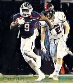 Emani Bailey Rb sets Denton Ryan school rushing record with 275 yards against Colleyville Heritage Texas High School Football, Raiders Football, Yards, Fictional Characters, Garten, Fantasy Characters, House Gardens