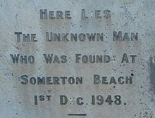 The grave of the Somerton Beach Man. In my opinion, this is the weidest mystery of all. Also called the Tamam Shud Case.