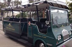 Explore the Urban Wine Trail aboard our open air mini trolley with Santa Barbara Urban Wine tours! epicure.sb inspired tours: 10/1-10/31 11AM or 2PM