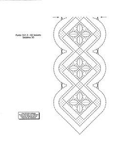 500 PLANTILLAS DE BOLILLOS - patri - Álbumes web de Picasa Lace Painting, Bobbin Lace Patterns, Dress Neck Designs, Crochet Needles, Lacemaking, Picasa Web Albums, Parchment Craft, Tatting Lace, Needle Lace