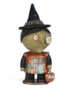 Love this Punked Witch Figurine on #zulily! #zulilyfinds