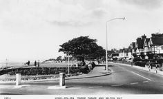 Marine Parade and Belton Way, Leigh-on-Sea. Leigh On Sea, Street View, History, Historia