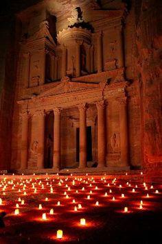 Petra / Wadi Musa, Jordan: Petra By Night