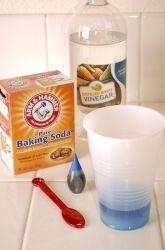 Preschool The 5 Senses Activities: Baking Soda and Vinegar
