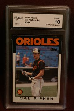 Ripkin Jr. Cal Topps baseball card 340 Rated 10 by GooseyLucy, $71.00