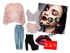 """its ANTY valentine Day BABY"" by discoveringglam on Polyvore featuring Miss Selfridge and Lime Crime"