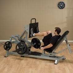 #bodysolid LVLP #horizontallegpress with direct drive press system for accurate and effective weight resistance. http://www.vincimed.com/body-solid-lvlp-leg-press/