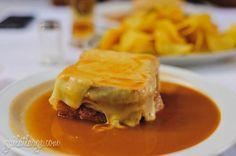 francesinha @ Restaurante A Regaleira (Porto, Portugal)