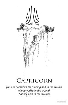 Capricorn - Shitty Horoscopes Book II: Anger by musterni