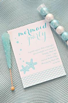 Hostess with the Mostess® - Kates Mermaid Party