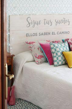 Barbie Room, Apartment Makeover, Bedroom Bed Design, Daughters Room, Diy Pallet Furniture, Headboards For Beds, Bed Pillows, Room Decor, Interior Design