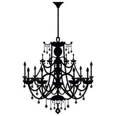 It's a wall sticker. And it's from Target. Pretty easy to spice up a wall. -Wall Decal - Rhinestone Chandelier