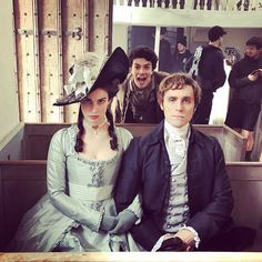 """Heida Reed on Instagram: """"Last day for Elizabeth on #Poldark 3   Who's that in the back? Coming soon..."""""""