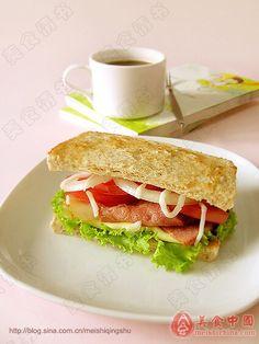 Sandwich Chinese Breakfast, Sandwiches, Tacos, Mexican, Ethnic Recipes, Food, Meals, Yemek, Eten