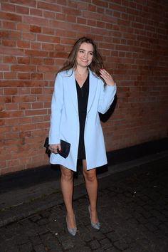 MARYSIA  NIKLIŃSKA Coat, Jackets, Fashion, Down Jackets, Moda, Sewing Coat, Fashion Styles, Peacoats, Fashion Illustrations