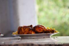 Pollo con Curcuma e Zafferano.Nella tranquilla località di Moulay Yacoub. Viaggiare in Marocco