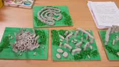 Hand made by year 3 children out of air dry clay. Primary School Displays, Display Boards For School, 3 Kids, Children, Lab, Iron Age, Prehistory, Air Dry Clay, Worksheets For Kids