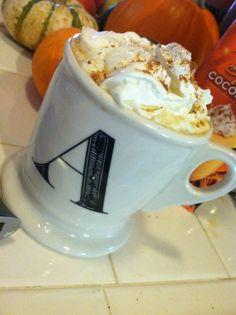 gluten free, dairy free pumpkin spice latte  #glutenismybitch #dairyismybitchtoo