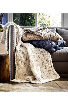 UGG® Australia Oversize Knit Throw | Nordstrom