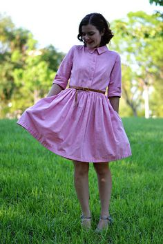 camí1 by pauline.alice, via Flickr (Sewing Pattern--buy the PDF.) | I'd love to make this but maybe change the collar into a Peter Pan collar?