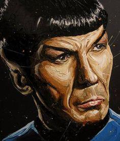 star trek art retro paintings - Google Search