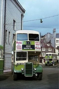 Photo U, Double Decker Bus, Bus Coach, London Bus, Chichester, Brighton And Hove, Great Britain, Sd, Trains