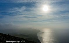 A misty #autumn #view from #GoldenCap #Dorset by @GaryHolpin
