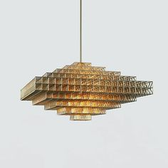 Gridlock Lighting by Philippe Malouin for Roll & Hill