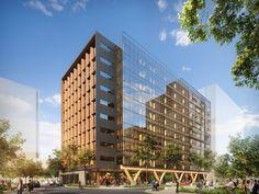 Bates Smart presenta sus planes para el edificio de madera más alto de Australia