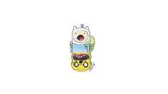 Adventure time mashup (original design by lawyartist)