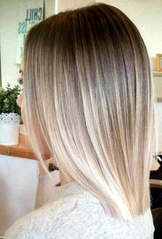 Ombre Hair Looks That Diversify Common Brown And Blonde Ombre Hair - Cabello Rubio Pretty Blonde Hair, Blond Ombre, Brown Ombre Hair, Brown Blonde Hair, Ombre Hair Color, Short Ombre, Straight Ombre Hair, Blonde Hair For Short Hair, Ombre Hair For Blondes