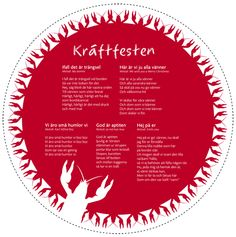 kraftfest! Crawfish Party, Party Themes, Themed Parties, Good Food, Brunch, Food And Drink, Sweden, Tapas, Europe