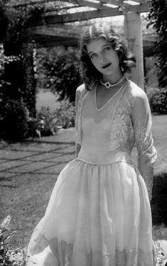 Actress Loretta Young 1930  by Edward Steichen