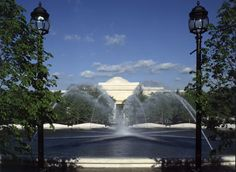 The National Gallery's Sculpture Garden is always a great place for lunch, people watching and enjoying art in the out-of-doors.  The Jazz nights in the summer are a special treat too.