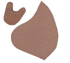 Leather mask pattern