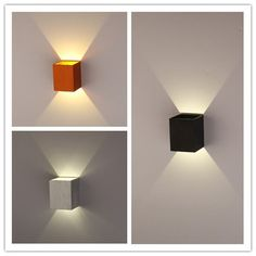 Rona Outdoor Wall Lights : 1000+ images about Up down light on Pinterest Led wall lights, Wall lamps and Outdoor walls
