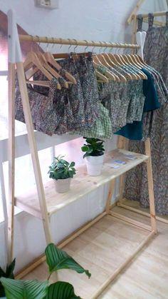 Handmade, Natural Wood, Clothes Rack