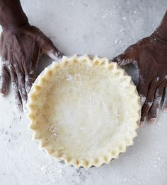 "i am going to try this pic crust...""never fail method"" for the perfect pie, recipe by pastry chef Alan Carter"