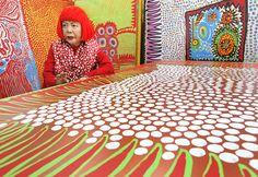 New York celebra a la artista japonesa Yayoi Kusama