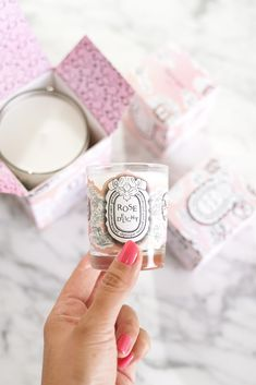 Diptyque Rose Delight Candle Small Size | The Beauty Look Book