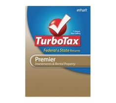 Turbo Tax Premier 2012.