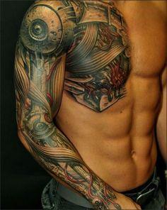 Sleeve Tattoos 3D