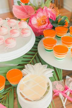 Desserts from a Tropical Birthday Party on Kara's Party Ideas | KarasPartyIdeas.com (49)