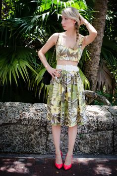 Matching sets, exotic prints & havana nights by The Editorialite | Lucky Community