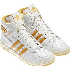 new style f5aae 2629a Pro Conference Hi Shoes, Neo White  Legacy  St Goldenrod