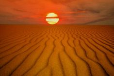 Libyan Desert at the afternoon