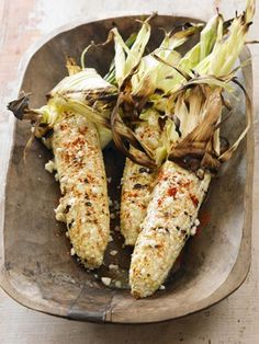 Recipes from The Nest - Spicy Corn on the Cob